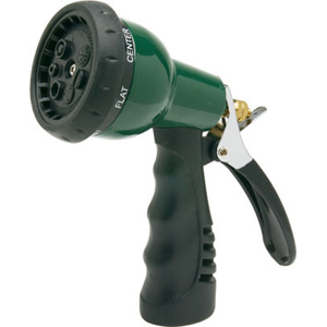 N2157A. Water Miser 6-Pos. Garden Hose Nozzle - Commercial  sc 1 st  Be Water Smart : nozzle for garden hose - www.happyfamilyinstitute.com